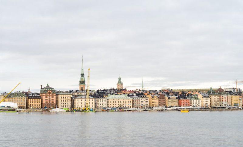 Stockholm stad vid vattnet