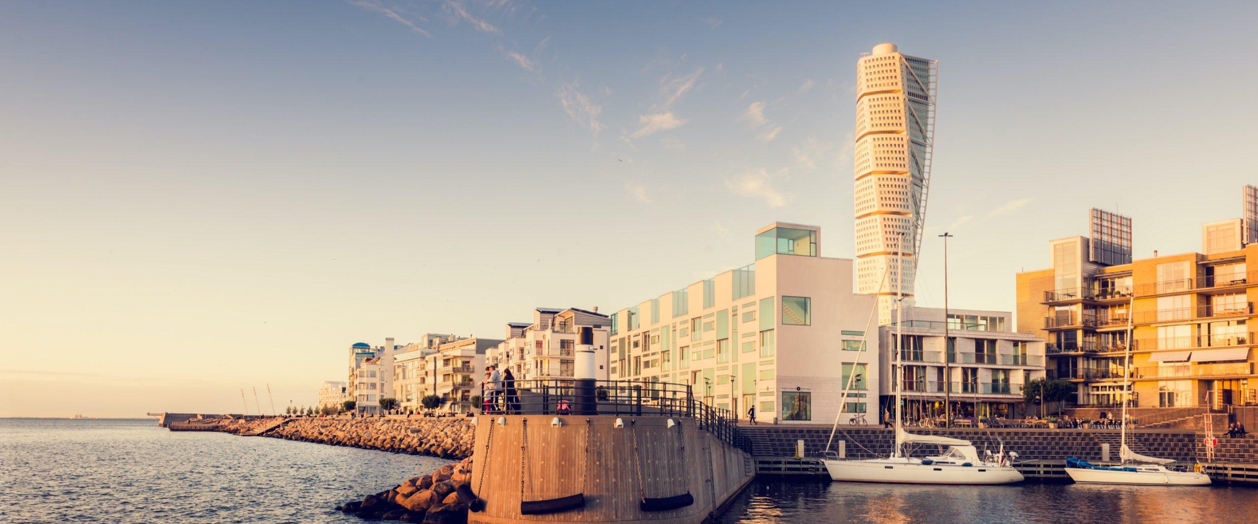 Utsikt över Malmö